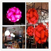 Wholesale 30 MM Modern Contemporary DIY Elements IQ Jigsaw Puzzle ZE Lamp Shade Ceiling Pendant Lamp Ball Light Lighting