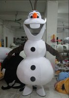 Wholesale High quality Adult size Olaf mascot costume Adult size Olaf mascot costume