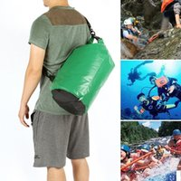 Wholesale Wholesales Outdoor Drifting Dry Bags Waterproof Portable Bag Dry Storages Green