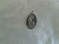 Wholesale 2000pcs tibetan silver St Francis of Assisi charms