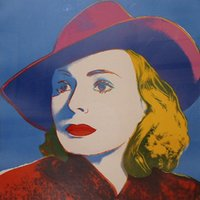 andy hat - Andy Warhol s oil painting for pub Ingrid Bergman With Hat buy high quality reproduction