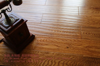 Wholesale Antique Oak oak a small wave teak color factory direct sales the living room became the preferred pastoral installation Wood floorin
