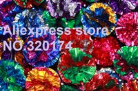 Wholesale 200pcs Petco Mylar Ball Cat Toy crinkle balls for kitten s favorite toy Constructed of shiny layers of colorful mylar Large size