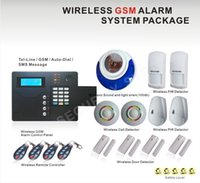 alarm keypad manual - Touch Keypad or433mhz wireless zones and wired zones gsm alarm system MHz lcd screen with French manual