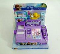 dollhouse - Frozen DSN authentic Hong Kong Children s play toys caixa registradora brinquedo dollhouse miniature brinquedos meninas
