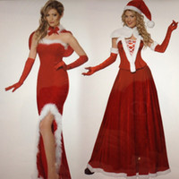 adult dance costumes - The new sexy Christmas costume adult female dance parties uniforms temptation Cosplay costumes ds