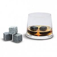 Wholesale Whiskey rocks set velvet bag sets whiskey stones whisky rock ice cube wine Sipping stone