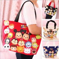fashion handbag wholesale - 2 sizes Big size Small Size Tsum Shoulder Bag Tsum Handbag Woman shoulder bag Children shopping bag