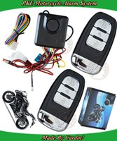 acc cars - smart motorcycle alarm system with pke alarm remotes keyless auto arm or disarm shock sensor alarm ACC ON alarm trigger not for car