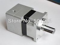 Wholesale Precision planetary gearbox NN60F A with ratio NEMA23 W Servo motor Input mm Output mm