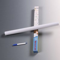 Wholesale 1PC Hot Sale PVC Marker Whiteboard Wall Sticker Foils Decals Removable Note Teach Wall Paper