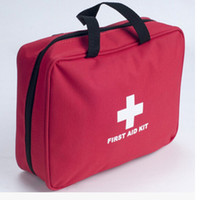 first aid kit - wholesales big Survival family travel first aid kit car first aid bag APPROVED CE ISO13485 FDA Certificate no contens
