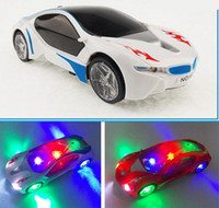 best selling sports cars - Retail Selling D Sports Car Model Car LED Toy With D Lights Sounds Best Gift for Kids