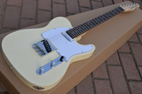 beginners guitars - Deluxe Telecaster guitar Custom shop White Blonde high quality complete tl electric guitar