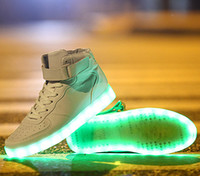 Cheap LED Lighted Sneakers Best Tide shoes