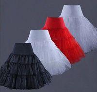 Nylon girls petticoats - 2015 New Layers A Line White Black Girls Underskirt Vintage Women s Rockabilly Petticoat Fancy Net Skirt Tutu Short Knee Length Petticoat