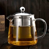 tea set - Hot Selling Drinkware ml Teapot Glass Tea Pot High Quality Tea Set