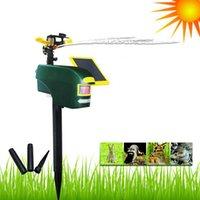 animal repeller spray - Solar Powered Wild Animal Repeller PIR Motion Activated Jet Spray Sprinkler Dogs Cats Deterrent