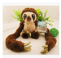 bear fair - cm crazy primitive plush toys belt Croods long arm monkeys fair young children s toys