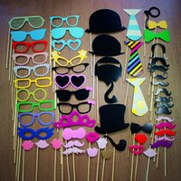 Wholesale Photo Booth Prop Set pieces on a stick Birthdays Weddings Parties Great Photobooth Props