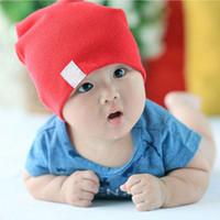 Hot Unisex New Born Baby Boy / Girl Kawaii lindo algodón suave Beanie sombrero suave infantil del niño Caps Accesorios bebé