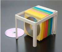 cd storage box - DIY cd rack large capacity storage box CD storage CD bag