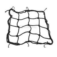 Wholesale Motorcycle Hooks Hold down Fuel Tank Luggage Net Mesh Web Bungee Black gib M47480