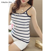 band tank tops - Fitness Women s Stripes Cashmere Knitted Camis Summer Style Colors Thin Band Sexy Tops White Stripe Women s Tanks Tops