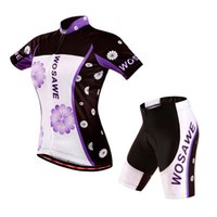 anti reflective - WOSAWE women Cycling Jersey shorts sets summer bicycle cycling clothing roupa ciclismo tight MTB bike cool sportwear