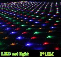 bar curtains - 10 meters large LED net light lights flash lamps Net light waterproof outdoor bar Lighting decoration AC110V AC220V DHL