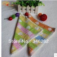Wholesale Fiber towel cloth washing kindergarten kids baby small towels02