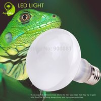 Wholesale 75w w Reptile UVA Lamps with Glass Material Heated terrarium Bulb for Reptile Health Supplies