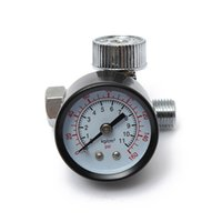 Wholesale HVLP Pneumatic Spray Gun Air Regulator Pressure Gauge Auto Paint Air Regulator Spray Gun Adjustable Regulating Gauge Air Tool