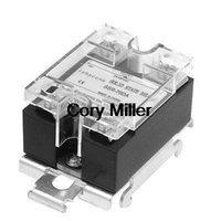 Cheap DC 3-32V 70A Temperature Control DIN Rail Mount SSR Solid State Relay SSR-70D order<$18no track