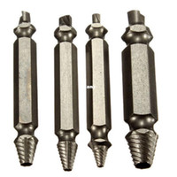 Wholesale Fashion Hot Screw Extractor Drill Bits Guide Set Broken Damaged Bolt Remover Easy