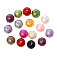 Wholesale Mixed Pearl Imitation Round Beads mm Dia B05246 yiwu