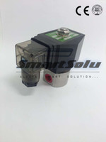 Wholesale way SS304 water high pressure solenoid valve quot BSP V DC Orifice mm normal close SPG stainless steel