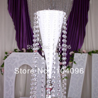 Wholesale Acrylic bead curtain Partition curtain door curtain Fashion luxury home decoration Transparent White