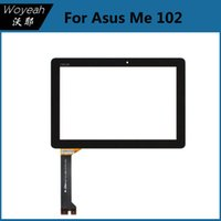 asus panel pc - For Asus ME102 Touch Screen Digitizer Glass Touch Panel Lens Black Tablet PC Screens For Asus