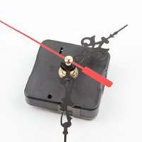 Wholesale 1Pc Black Stitch Movement Quartz Clock Movement Mechanism Repair DIY Tool Kit L0192579