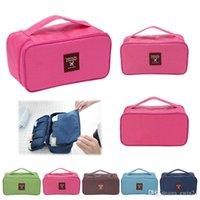 Wholesale Waterproof Portable Travel Drawer Dividers Closet Organizers Bra Underwear Storage Bag Lingerie Case Multi function Organizer Bag