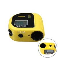 Wholesale high qaulity Handheld Laser Rangefinders Ultrasonic Distance Measurer Meter Range Finder Tape Portable Measure Tools