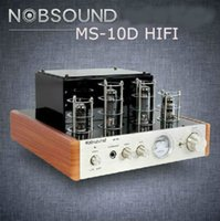 tube amplifier - MS D top selling tube voice amplifier power voice amplifier nobsound excellent sound tube amplifier