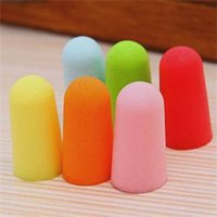 Wholesale 20pcs Foam Soft Ear Plugs Noise Reduction Earplugs ear plugs for noise ear protection earplug earmuffs hearing protection