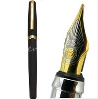 Wholesale Luxury Duke Matte Black And Golden KGP M Nib Fountain Pen Thick For Student Study Writing Gifts Decorations Office Supplie