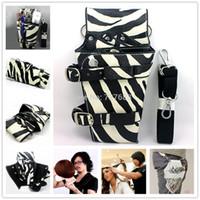 Wholesale Pro Hairdressing Scissors Holder Holster Pouch with Belt Hairdresser Tool Bag