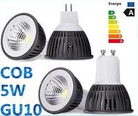 Wholesale 2015 new sale COB w GU10 E27 Led bulbs light E26 E14 MR16 LM Dimmable led Ceiling lights Warm Cold White V V CE ROHS