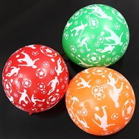 balloon football balloons - inch round mixcolor balloons printed boys play football supplies children s birthday party and
