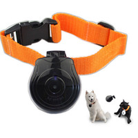 Wholesale New Pet s Eye View Camera For dogs cats Digital Clip On Collar Pet Video Camera Cam With LCD Display Amazing Gifts For Pet Person