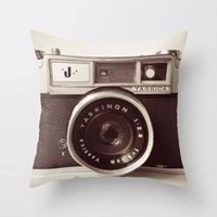 Wholesale Hot sale D Digital Camera Printed Pillowcase Art Bedroom A Living Room Cushion Creative Fashion Bedroom Decoration Pillowcase